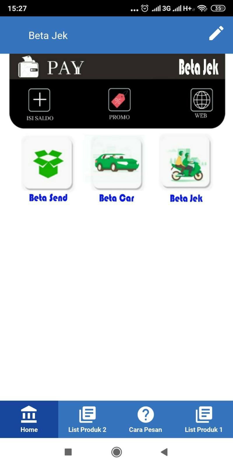 Beta Jek Ojek Online Kab Buru Maluku Tengah Pour Android Telechargez L Apk