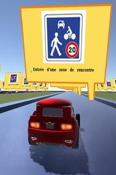 Code de la route poster