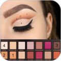 Examples of eye makeup (Step by step)