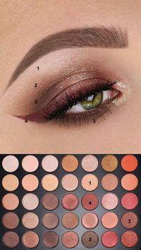 Step by step makeup 2020 🌈 💅🏻💍💄 💯 screenshot 11
