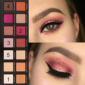 Step by step makeup 2020 🌈 💅🏻💍💄 💯 screenshot 8