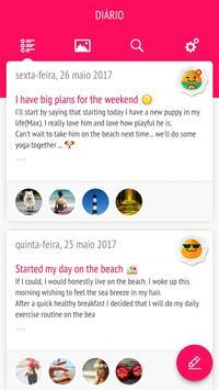 Meu Diário - Diário com senha imagem de tela 9