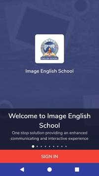 Image English School poster