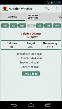 Nutrition Watcher poster
