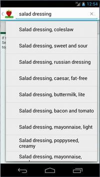 Nutrition Watcher screenshot 2