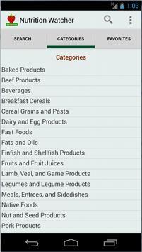 Nutrition Watcher screenshot 3