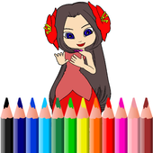 My Fairy and Princess Coloring Book icon