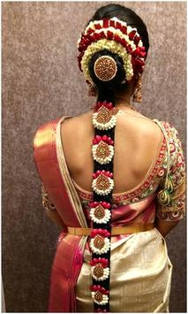 Indian Bridal Hair styles Photo Montage screenshot 3