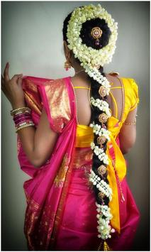 Indian Bridal Hair styles Photo Montage screenshot 2