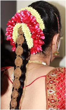 Indian Bridal Hair styles Photo Montage screenshot 6