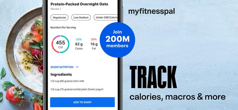 Calorie Counter - MyFitnessPal poster