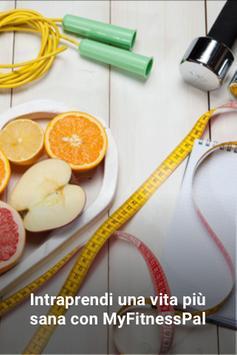 Poster Contatore calorie