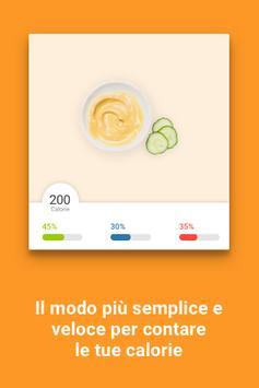 3 Schermata Contatore calorie