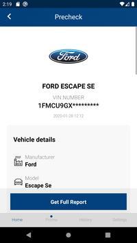 Ford History Check: VIN Decoder screenshot 1