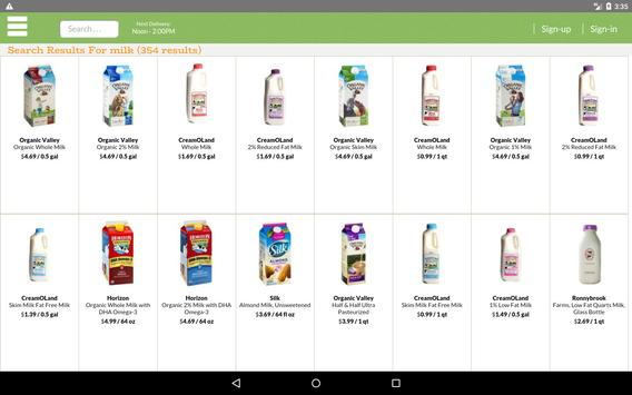 MyFreshGrocer - EcoFriendly Grocery Delivery screenshot 5