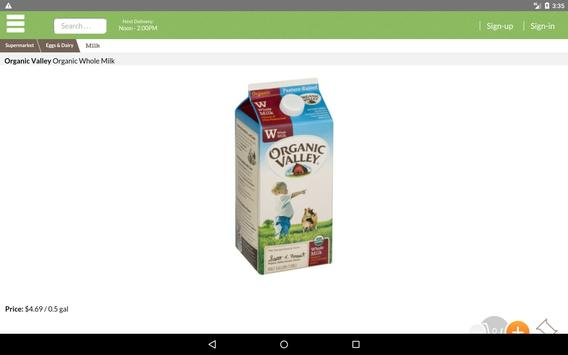 MyFreshGrocer - EcoFriendly Grocery Delivery screenshot 6