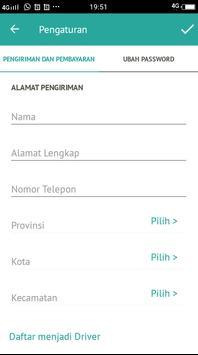 KALINE - Transportasi Ojek, Delivery, Belanja screenshot 7