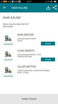 KALINE - Transportasi Ojek, Delivery, Belanja screenshot 3
