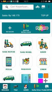 KALINE - Transportasi Ojek, Delivery, Belanja poster