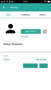 KALINE - Transportasi Ojek, Delivery, Belanja screenshot 6