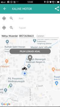KALINE - Transportasi Ojek, Delivery, Belanja screenshot 4