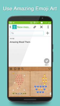 Wood Keyboard Theme screenshot 3