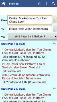 Kuala Lumpur Transit Info screenshot 2