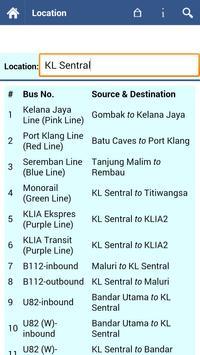 Kuala Lumpur Transit Info screenshot 3