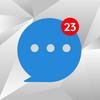 Messenger Home Lite - SMS Powered Phone Homescreen 아이콘