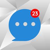 Messenger Home Lite - SMS Powered Phone Homescreen icon