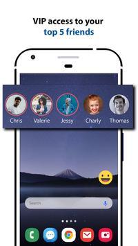 Messenger Home Lite - SMS Powered Phone Homescreen screenshot 2