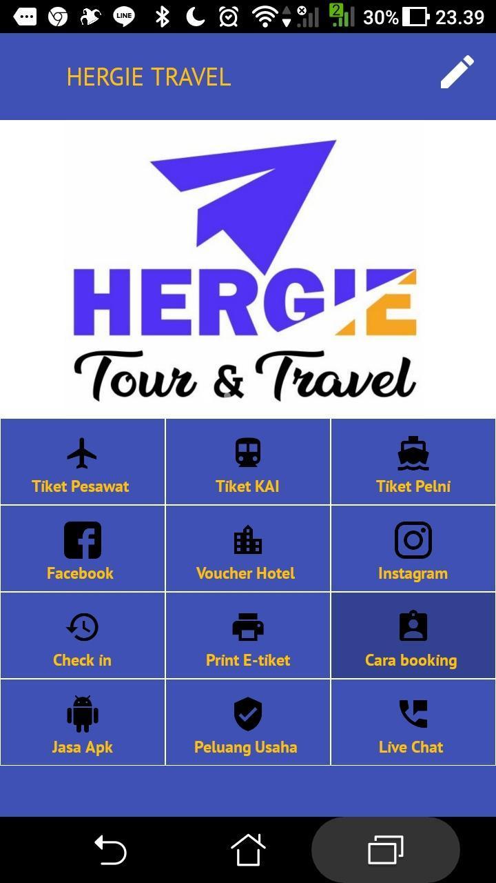 Tiket Murah Hergie Travel Cho Android Tải Về Apk