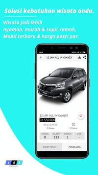 Jas rental mobil screenshot 3