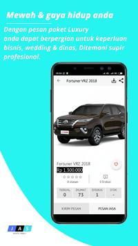 Jas rental mobil screenshot 5
