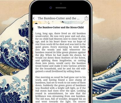 Free Japanese Fairy Tale Book Reader screenshot 4