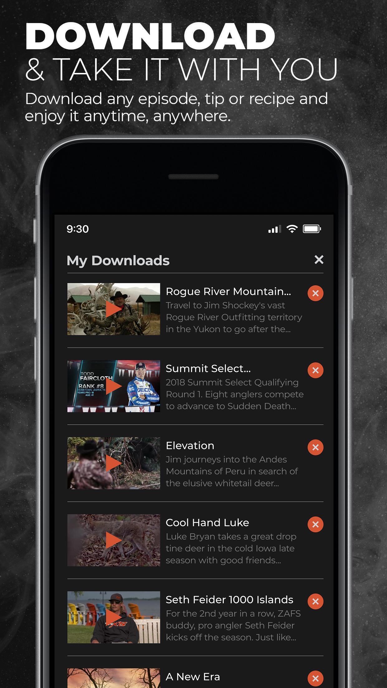 MyOutdoorTV: Hunting, Fishing, Shooting videos for Android