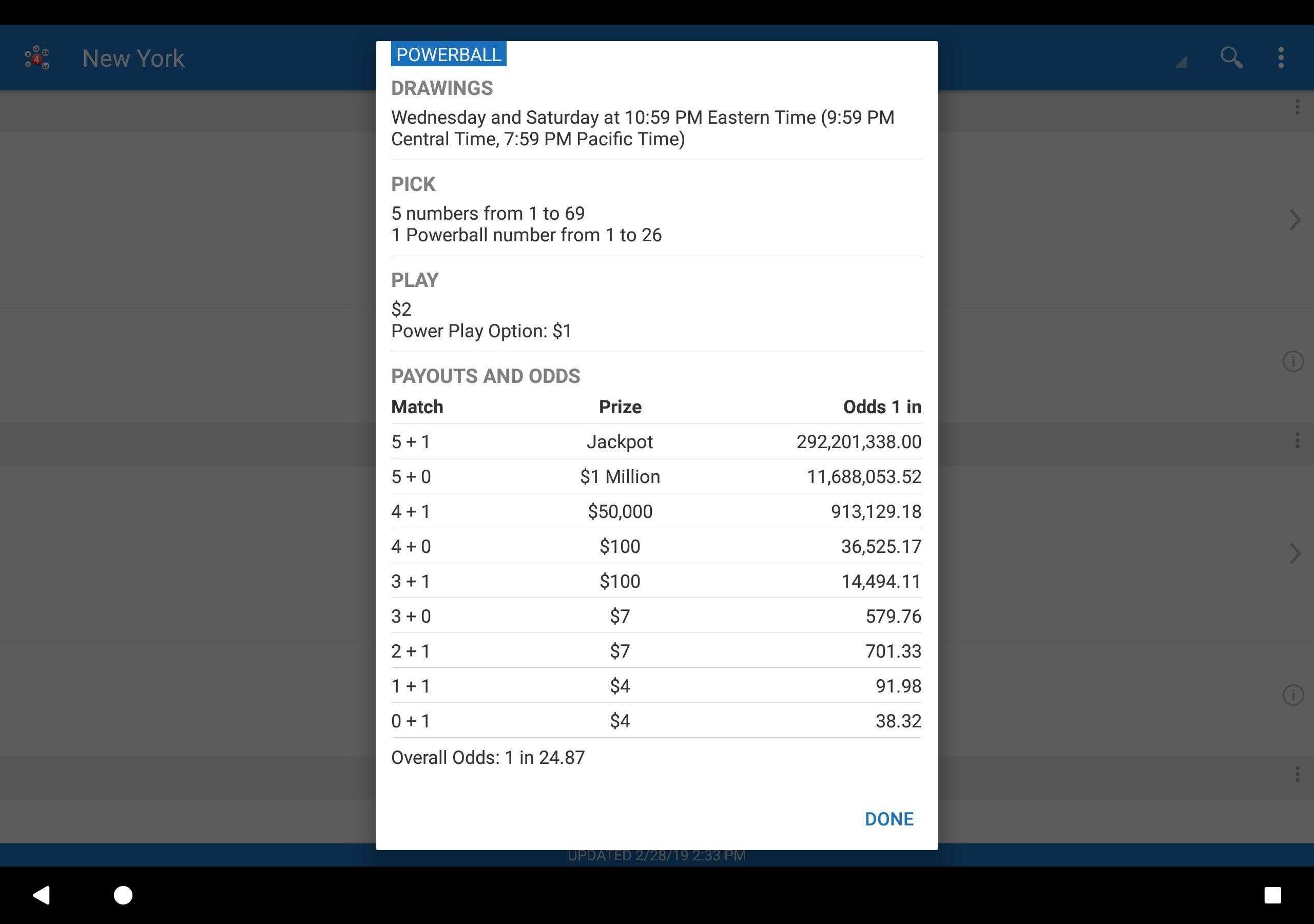 Lotto Results for Android - APK Download