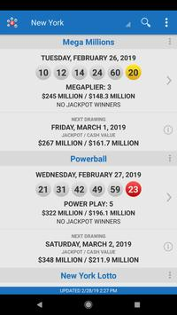 Lotto Results screenshot 1