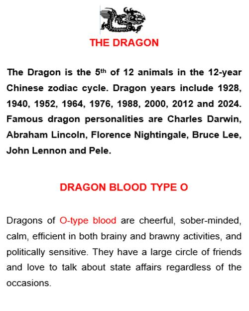 Chinese Zodiac Blood Type Personality for Android - APK Download