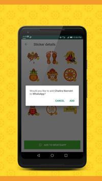 Durga Mata Navratri Stickers screenshot 1