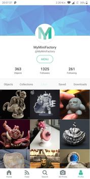 MyMiniFactory скриншот 1