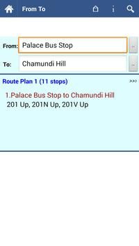 Mysore Bus Info screenshot 2