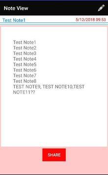 My NoteBook screenshot 3