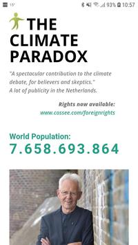 The Climate Paradox poster