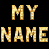 3D My Name Live Wallpaper icon