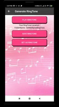 My Name Ringtone - name ringtone maker screenshot 5