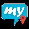 mysms – GPS Location Sharing-icoon