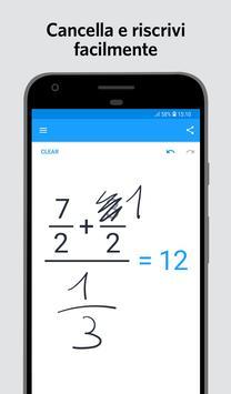 1 Schermata MyScript Calculator 2