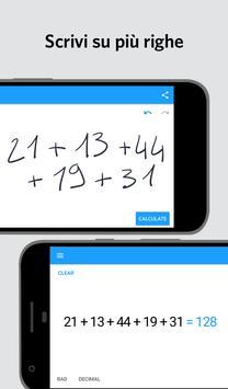 2 Schermata MyScript Calculator 2