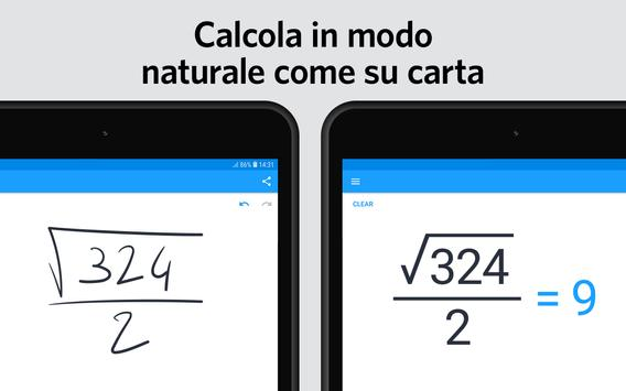 5 Schermata MyScript Calculator 2